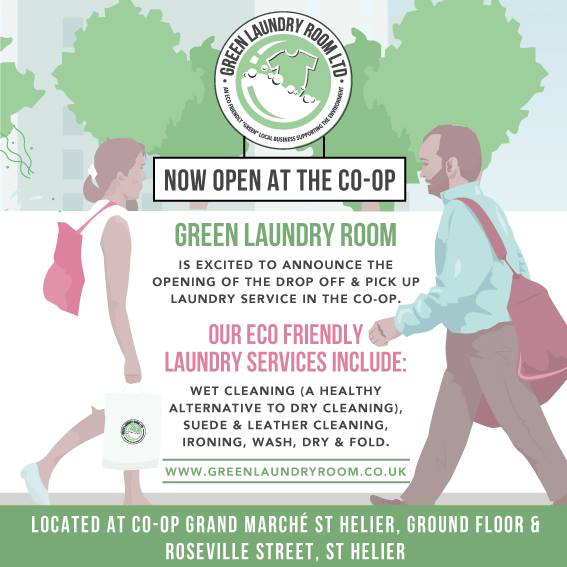 The Green Laundry Room's Drop Off and Collection is Now Open