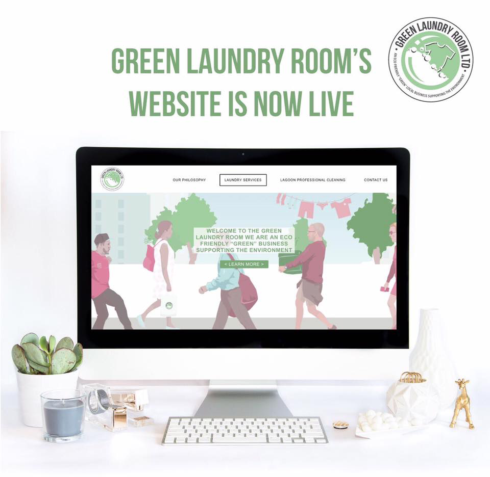 The Green Laundry Room Website Launch