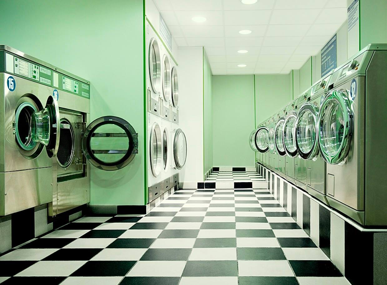 Green Laundry Room June Promotion